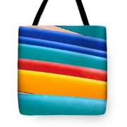 Multitude Of Surfboards Tote Bag