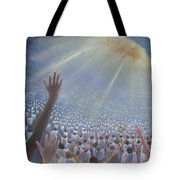 Multitude Of Worshippers Tote Bag