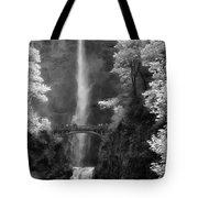 Multnomah Falls Bw Tote Bag