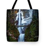 Multnomah Falls Frozen Tote Bag