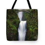 Multnomah Falls, Oregon, Usa Tote Bag