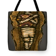Mummy And Teddy Tote Bag