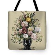 Mums Bouquet Tote Bag