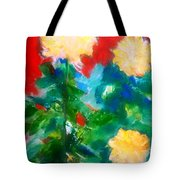 Mums On Red Tote Bag