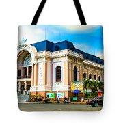 Municipal Theater Ho Chi Minh City Vietnam Tote Bag