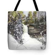 Munising Fall Upper Michigan Tote Bag
