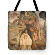 Mural Church Art Tote Bag