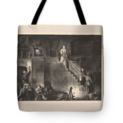 Murder Of Edith Cavell, First State By George Bellows 1882-1925 Tote Bag