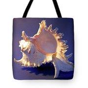 Murex Ramosus Seashell Tote Bag