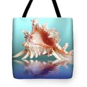 Murex Seashell Reflection Tote Bag