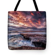 Muriwai Sunset Tote Bag