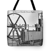 Murrays Portable Steam Engine, 19th Tote Bag