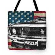 Muscle Us Mustang Tote Bag