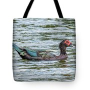 Muscovey Duck Tote Bag