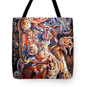 Muse In The Dark Tote Bag