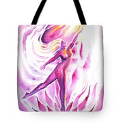 Muse Of Dance Tote Bag
