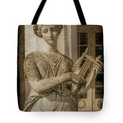 Achilleion, Corfu, Greece - The Muse Terpsichore Tote Bag