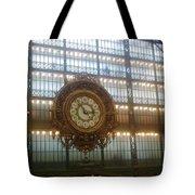 Museum D'orsay Clock Tote Bag