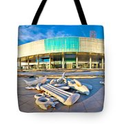Museum Of Contemporary Art In Zagreb Tote Bag