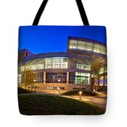 Museum Of Contemporary Art In Zagreb Exterior Tote Bag