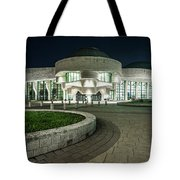 Museums Face Entrance Tote Bag