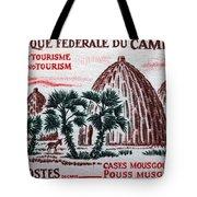 Musgum Houses Tote Bag