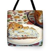 Mushroom And Crab Savory Cheesecake Tote Bag