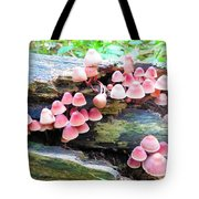 Mushroom Condo Tote Bag