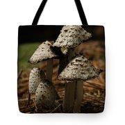 Mushroom Family Tote Bag