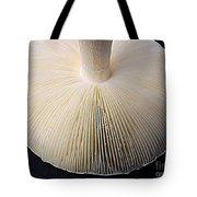 Mushroom Macro Expressionistic Effect Tote Bag