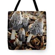 Mushroom Quartet Tote Bag