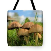 Mushroom Tote Bag by Sheila Werth