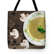 Mushroom Soup Tote Bag by Deyan Georgiev
