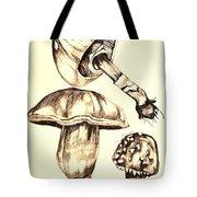 Mushroom Study 4 Tote Bag