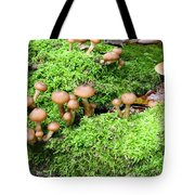 Mushrooms And Moss 2 Tote Bag