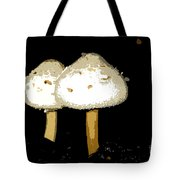 Mushrooms For Two Work Number 11 Tote Bag