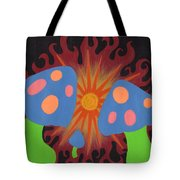 Mushrooms And Fire Tote Bag
