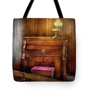 Music - Organist - A Vital Organ Tote Bag by Mike Savad