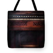 Music - Organist - Do Not Mortgage The Farm Tote Bag by Mike Savad