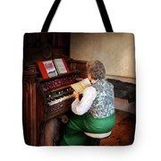 Music - Organist - The Lord Is My Shepherd  Tote Bag