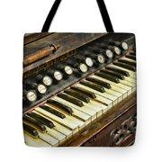 Music - Pump Organ - Antique Tote Bag