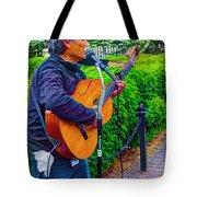 Music Al Fresco Tote Bag