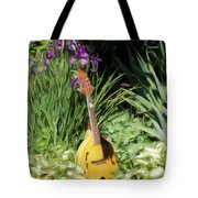 Music And Flowers Tote Bag