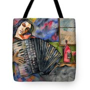 Music And Wine Tote Bag