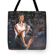 Music  By  The  Night Tote Bag