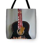 Music City Guitar Tote Bag