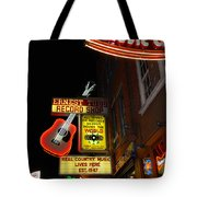Music City Nashville Tote Bag by Susanne Van Hulst
