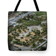 Music Concourse At Golden Gate Park In San Francisco Tote Bag