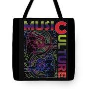 Music Culture Tote Bag