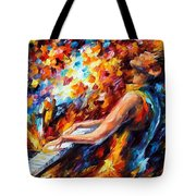 Music Fight Tote Bag